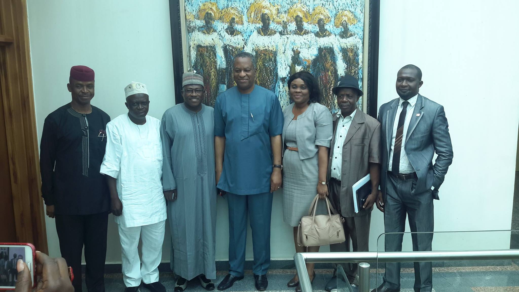 FTAN Courtesy Visit to the Hon. Minister of Foreign Affairs