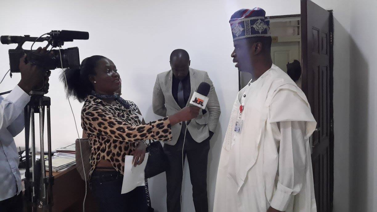Courtsey/Technical Visit of ITP to the D.G  of NTDC Mr. Folorunsho Folarin Coker
